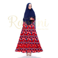 Nessia Dress by Ranuni Bahan Premium Fabric Cotton Embroidery