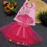 Dress gaun rok tutu bayi