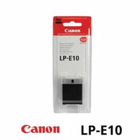 Battery LP-E10 ORIGINAL - Baterai Batre Canon EOS 4000D,1300D,1500D