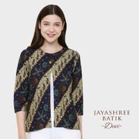 Jayashree Batik Devi Outer - Biru, XL
