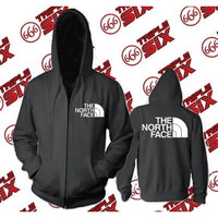Jaket Hoodie Zipper The North Face