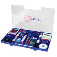 Sewing Kit Box Set - Tool Set Alat Jahit Menjahit Deluxe Box Biru