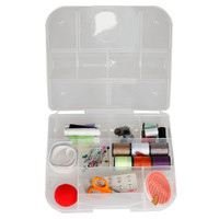 Sewing Kit Box Set - Tool Set Alat Jahit Menjahit dengan Deluxe Box