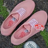 Sepatu wanita Promo Vans Authentic Peach Rosy Grade Ori Murah Terbaru