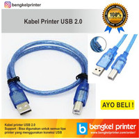 Kabel USB 2.0 Printer HP Canon Epson Brother Xerox 1,5 Meter Awet