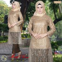STelan Kebaya Brokat Style hijab modern Rok Plisket