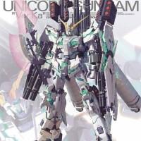 MG 1/100 Unicorn Gundam Full Armor ver. KA ori Bandai