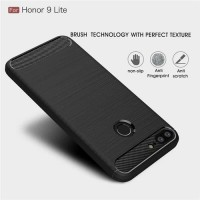 IPAKY Case Armor Carbon Series Honor 9 Lite Softcase