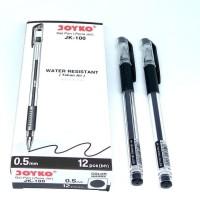 Pulpen Gel JK 100 Water Resistant ( Tahan Air ) Joyko