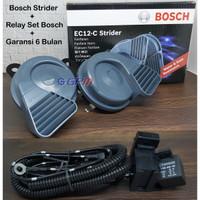 Klakson Keong Bosch Strider EC12-C & Relay Set Bosch Garansi 1 tahun.