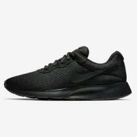 Sepatu Original Nike Tanjun ORI full All Black Hitam polos Unisex