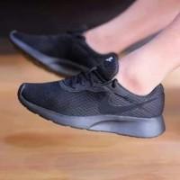 Sepatu hitam Nike Tanjun ORIGINAL full All Black