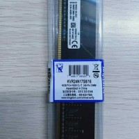 RAM PC DDR4 16GB PC4 19200 CL17 2400MHZ KINGSTON BARU.BERGARANSI