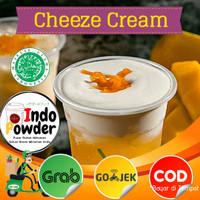 Bubuk Cheese Tea Cream 1Kg / Bubuk Cheese Cream 1 Kg / Cheese Foam 1kg