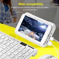 Controller Gamepad Wireless Bluetooth untuk pubg moblie Keyboard Mouse