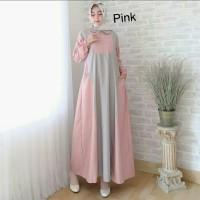 Pakaian Baju Busana Muslim Wanita Maxi JESSY Gamis Termurah Terbaru