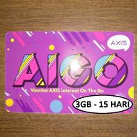 VOUCHER AXIS AIGO 3GB - 15 HARI