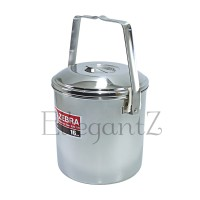 151616 Rantang Tunggal ZEBRA 16 cm / Loop Handle Pot Auto Lock