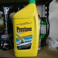 Radiator Coolant Prestone Antifreeze 1L air radiator motor mobil