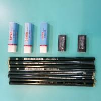 Pensil 2B faber Castle Murah Best Promo