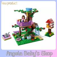 BELA 10158 191 pcs 3065 Little girl Child Tree house Gift House play H