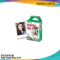 Isi Refill Fujifilm Instax Mini Instant Paper Film Isi 10 POLOS