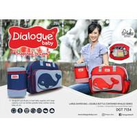 Dialogue Tas Perlengkapan Bayi Besar Whales Series DGT 7134