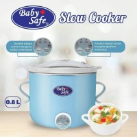 slowcooker baby safe biru