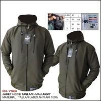 jaket hoodie taslan latex pria original berkualitas/ jaket pria/wanita
