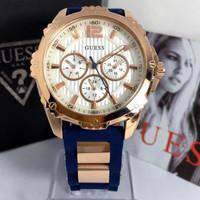 7 Jam Tangan Wanita guess chronograph 38mm
