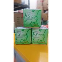 Sco Pantyliner - Pembalut Herbal S.co Hijau - S co Bukan Avail