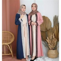 Busana Muslim Wanita Baju Pesta Long Dress UMI Gamis Syari Terbaru