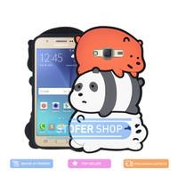 3D Case Samsung J5 Softcase 4D Karakter Boneka we bare bears j5