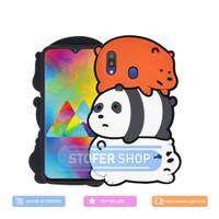 3D Case Samsung M20 Softcase 4D Karakter Boneka we bare bears M20