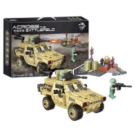 Lego Mobil Jeep Tentara Militer Perang Xingbao 06024 Swat Army Soldier