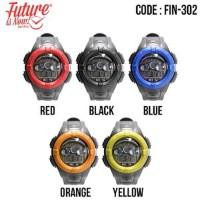 Generic - Jam tangan fashion pria analog - FIN-302 - Ada 5 pilihan war
