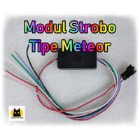 Modul Controller Strobo LED RGB tipe Meteor 12v