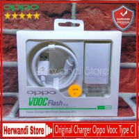 Charger Casan Oppo VOOC 4Ampere R17 Pro Type C Original 100% Fast