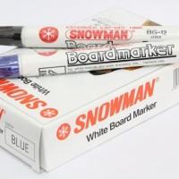 Spidol Snowman White board BG - 12