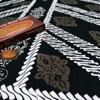 Sarung batik cap batik MAHDA PEKALONGAN Black Series