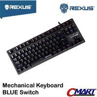 Rexus RX-MX51 Keyboard Gaming Mechanical MX5.1 BLUE Switch RX-MX5.1BL