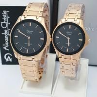 jam tangan couple Alexandre christie original AC 8605 CP