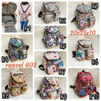 RANSEL IMPORT MURAH BEST SELLER / BACKPACK THAILAND FASHION WANITA TAS