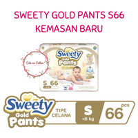 Sweety Gold Pants S66 S 66