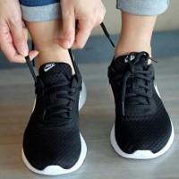 Sepatu Nike Tanjun ORIGINAL Black white Olahraga gym casual Sneakers