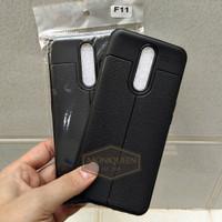 Oppo F11 Auto focus Case Leather Softcase Auto focus Case Casing