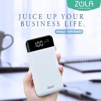 Promo Powerbank ZOLA Venus 10000 mAh Smart LED Display Fast Charging