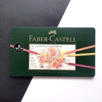 Faber Castell Polychromos Color Pencils Tin of 36 Pensil Warna
