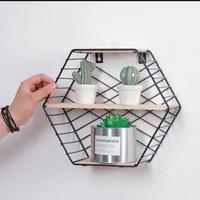 rak kutek rak majalah rak display floathing shelf
