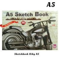 Kiky Sketch Book A5 / Buku Gambar Sketsa Ukuran A5